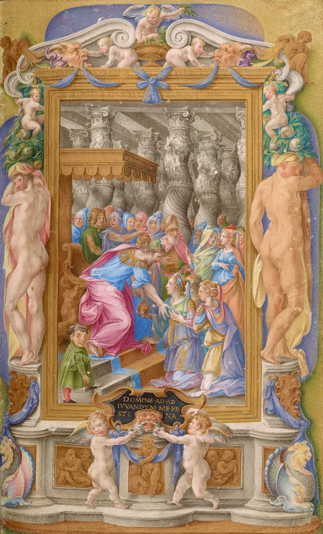 Farnese Hours Renaissance Art Art Medieval Manuscript