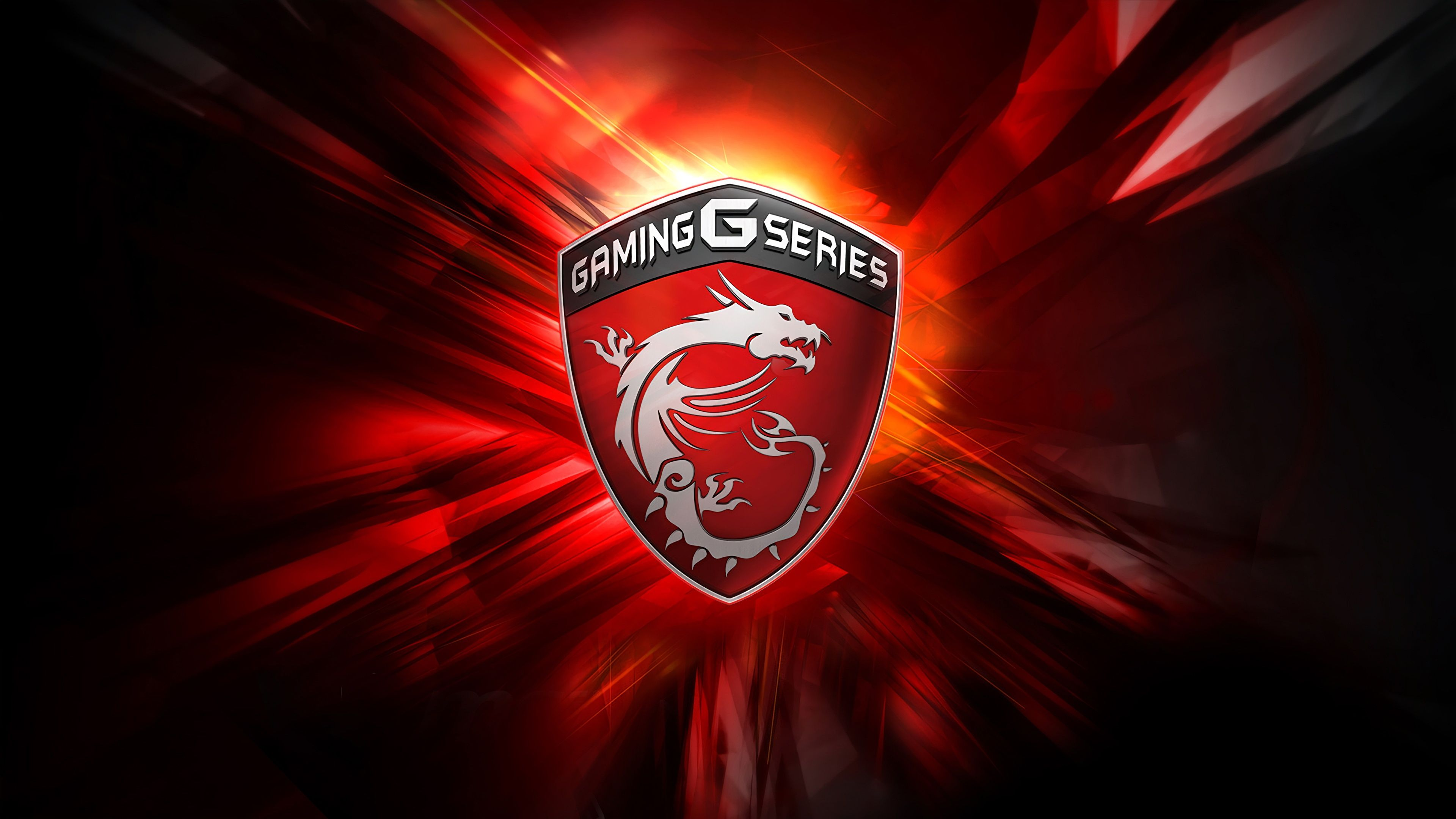 10 New Msi Gaming Series Wallpaper Full Hd 1920 1080 For: MSI Dragon Logo Gaming G Series 4K 3840x2160 Wallpaper