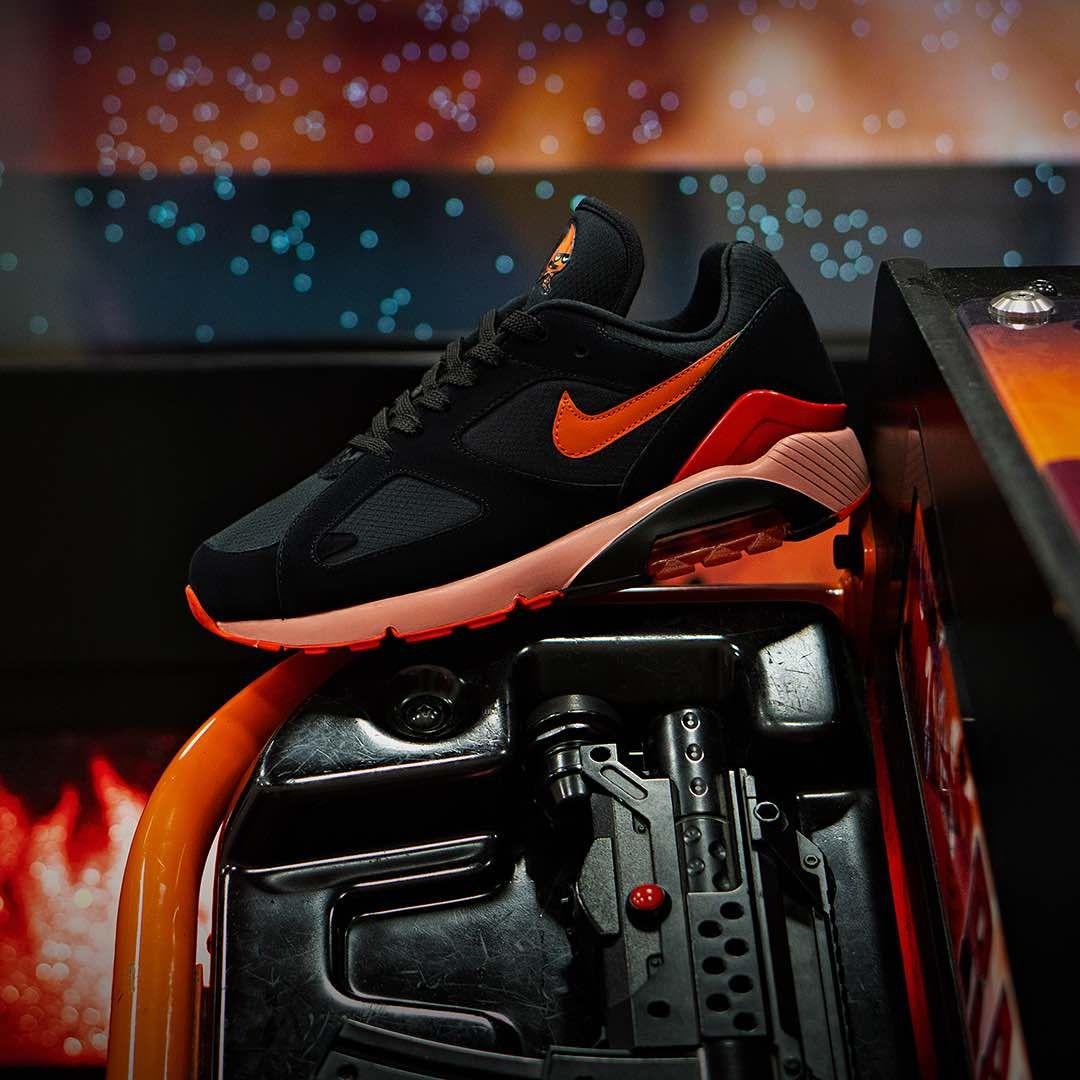 promo code 3cbdb d95f5 Nike Air Max 180 Fire  amp  Ice Pack « Black » https