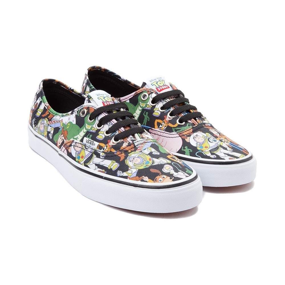 Charms Vans X Disney Authentic Canvas Plimsolls A31z3775