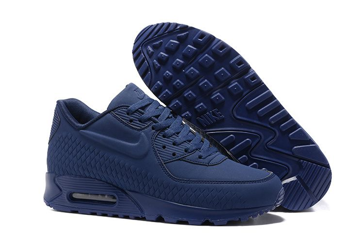 Nike Air Max 90 Mens Navy Blue White