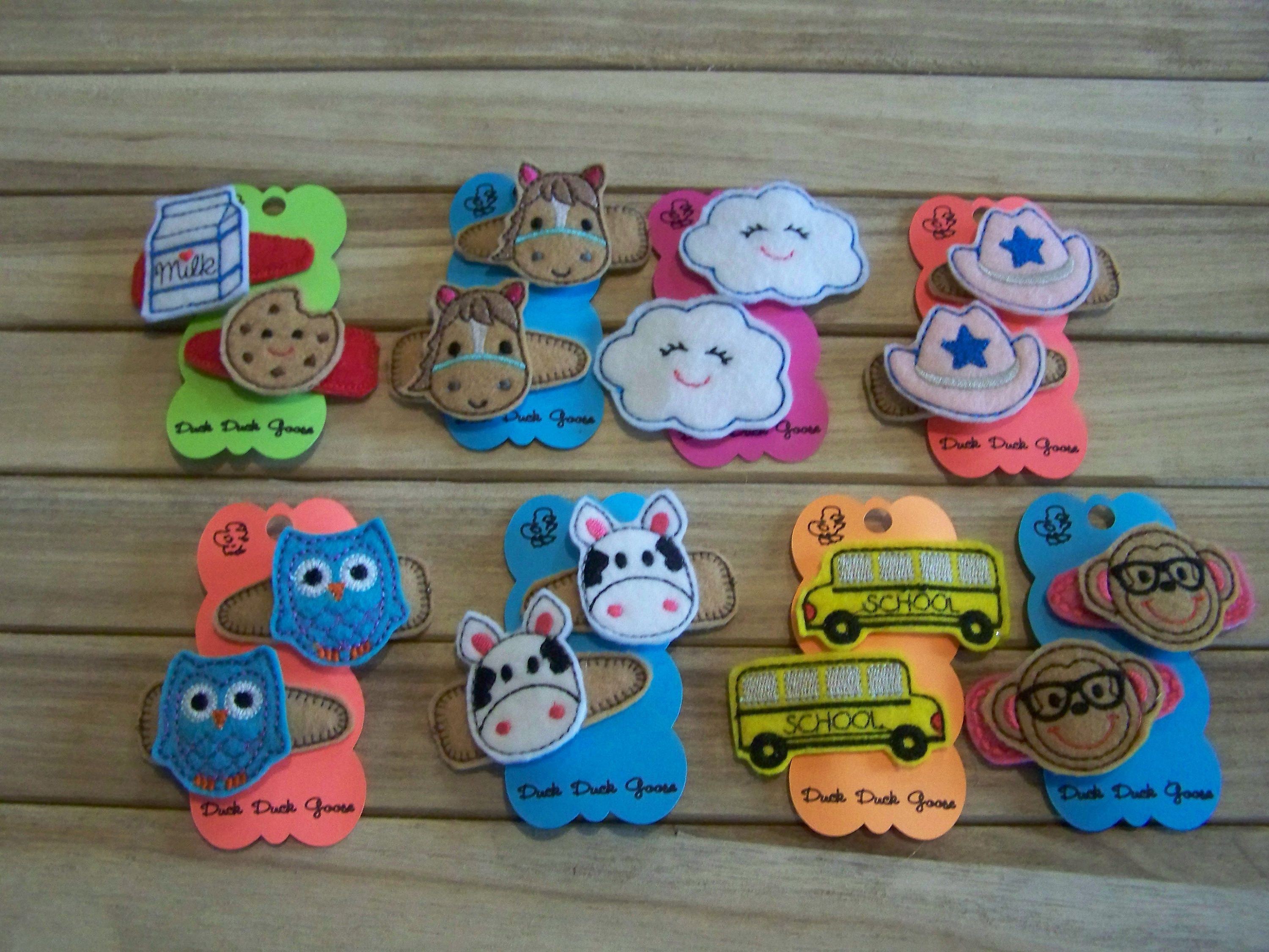 Your Choice Any 4 Or More Little Girl S Toddler Hair Clips