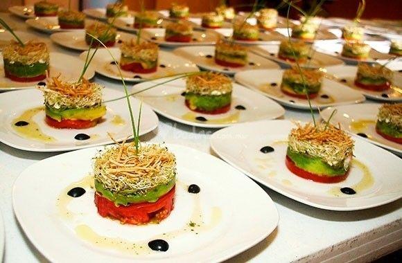 Men gourmet de mangiare catering eventos fotos for Menus faciles de hacer