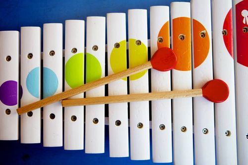 janod wooden xylophone