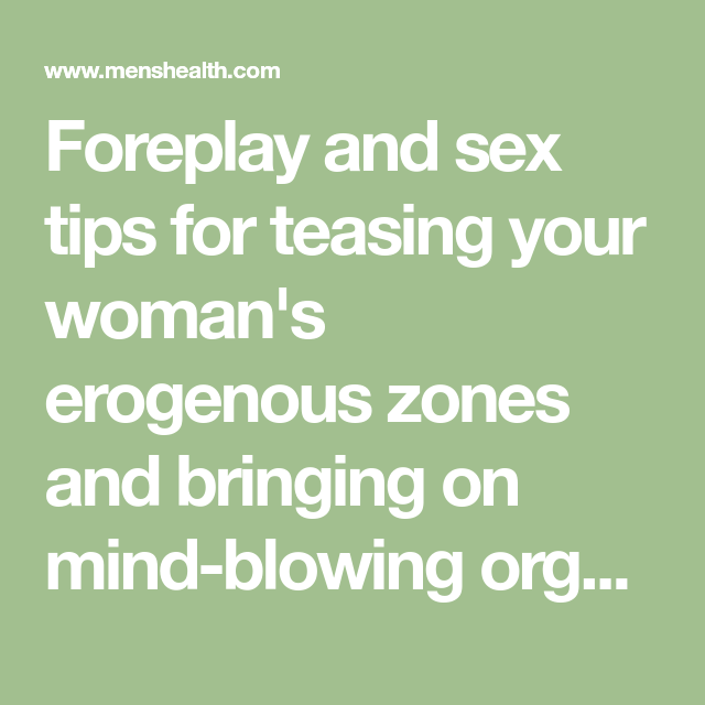 tips for better foreplay