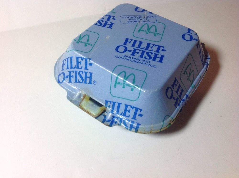 Pictures of Filet O Fish Styrofoam in Box