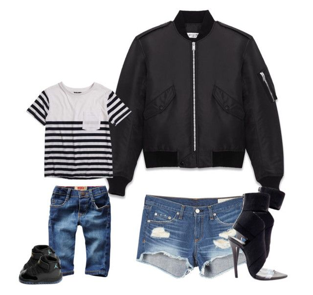 Mommy Son Outfit By Amberirving On Polyvore Featuring Yves