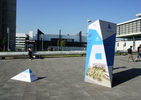 "Cergy-Pontoise | Exposition ""Grand centre"" © Agence 4août"