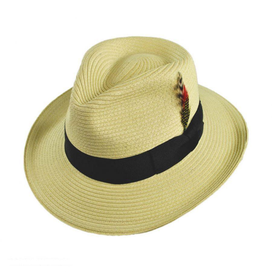 ef3ad94e8 Summer C-Crown Toyo Straw Fedora Hat | Threads | Straw fedora, Jaxon ...