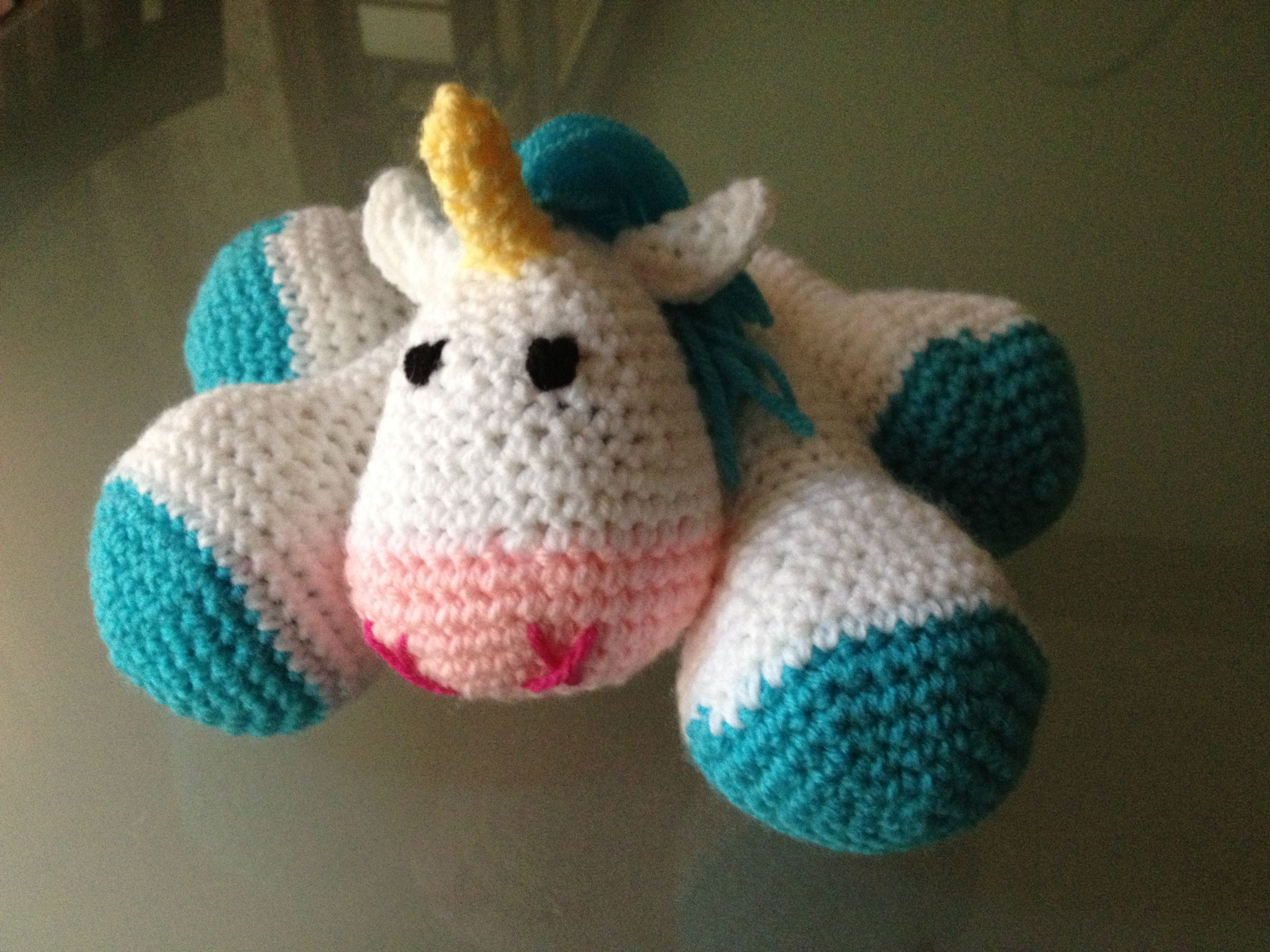 Crochet Unicorn : Crochet unicorn Yarn Crafts Pinterest
