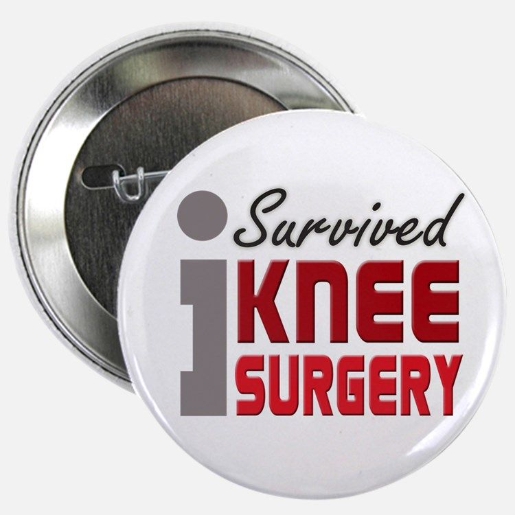 Knee surgery surgery i survived