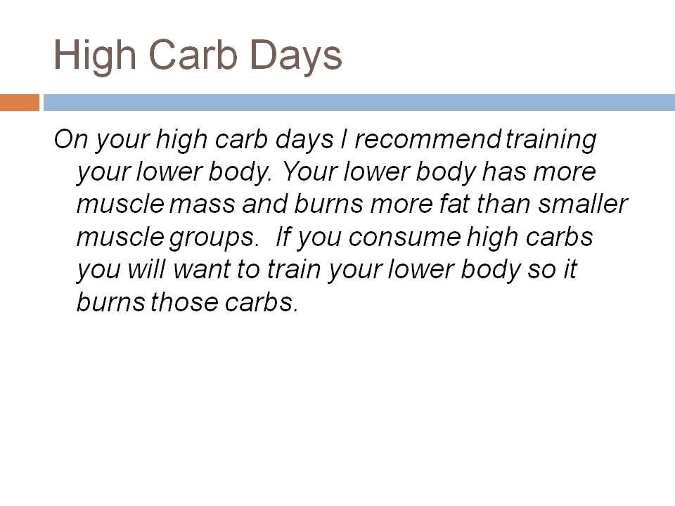 Carb Cycling Do You Think Your Carb Addiction Is Making You Fatter