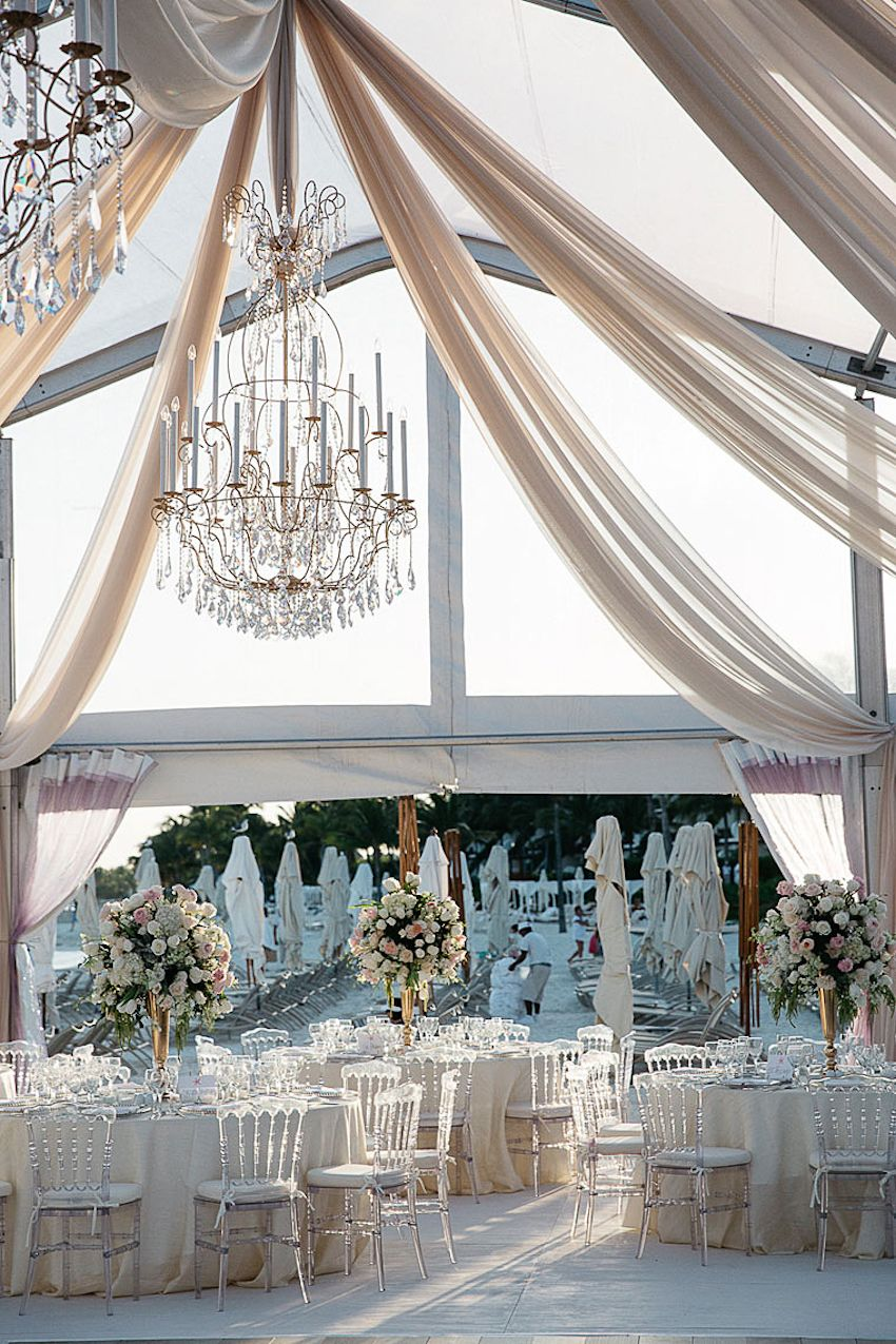 Elegant Beachside Destination Wedding in Playa del Carmen