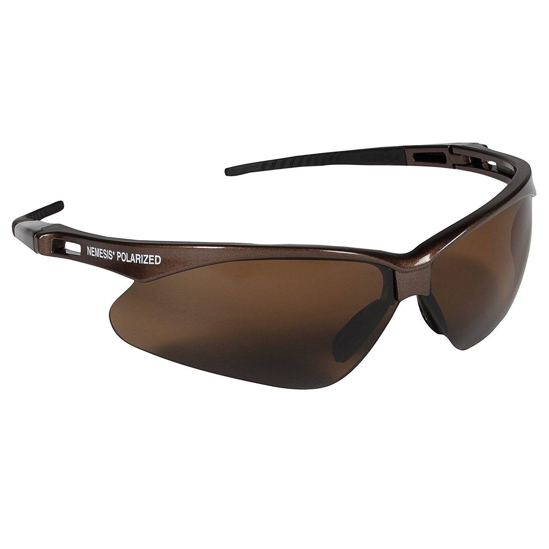 Jackson Safety V30 Nemesis Polarized Safety Glasses (28637), Polarized  Brown Lenses, Brown Frame  Safety Glasses  Amazon.com  Amazon Launchpad fc7adcd07e