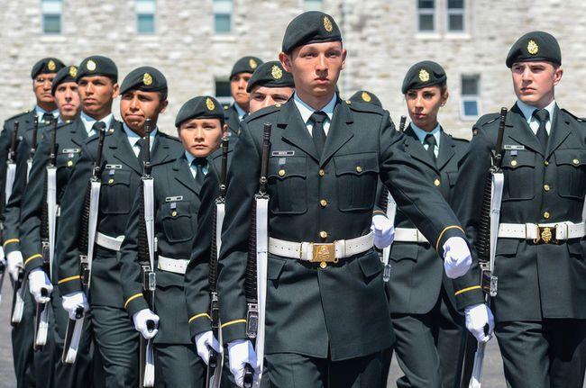 Canadian Aboriginal Military Leadership Training Rmc Kingston Ontario Canada Canadian Army Leadership Training Canadian