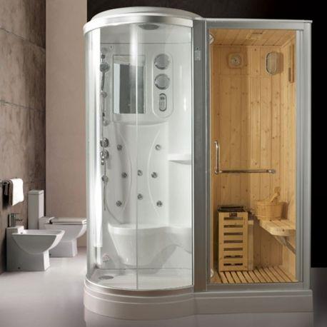 EVEREST Cabine de douche Hammam Sauna | SPA | Pinterest | Saunas and ...