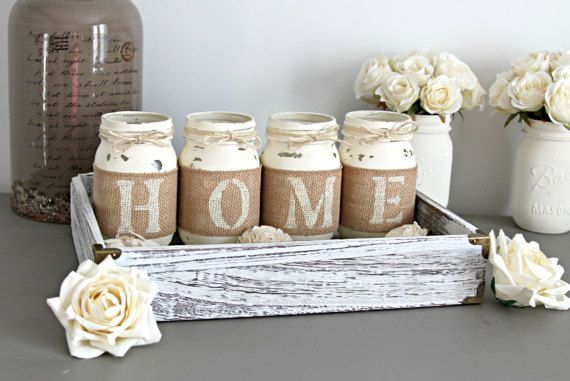 Wife Gift Gift for Friend Farmhouse Always Stay Humble and Kind Planter Box Mason Jar Decor Friend Gift Gift ideas for Women
