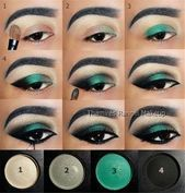 # Maquillaje de ojos #brillante #maquillaje de ojos #maquillaje #maquillaje # natural