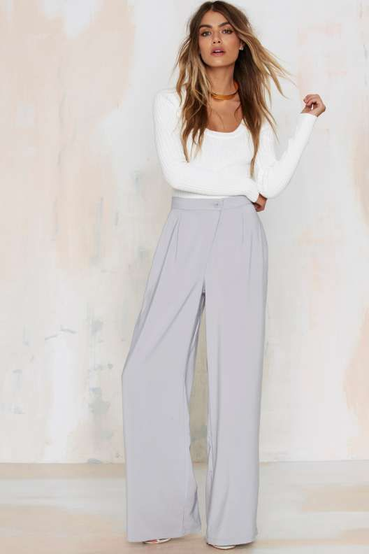 Neon Rose René Wide Leg Pants | Thanks, It's New | Pinterest ...