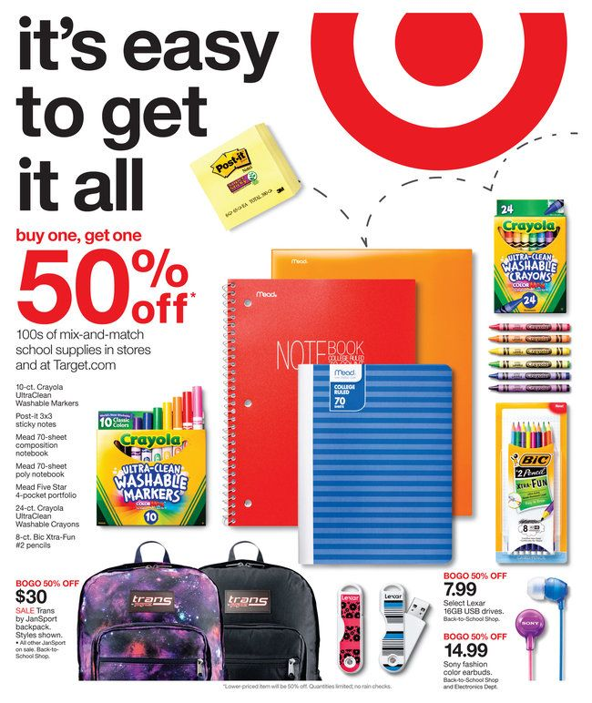 target coupon notebook