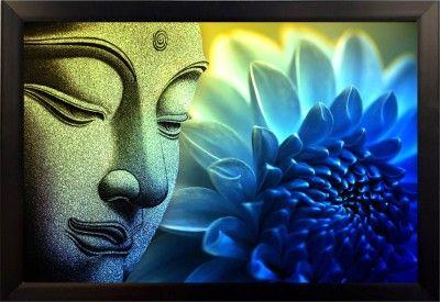 Divinecrafts Fine Print Meditating Buddha Canvas Painting Price in India - Buy Divinecrafts Fine Print Meditating Buddha Canvas Painting online at Flipkart.com