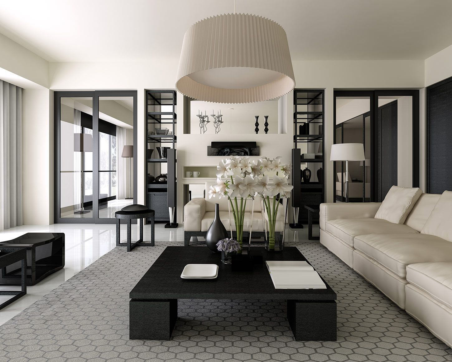 Salon De Luxe Noir Et Blanc embrace the best inspirations from living rooms that luxxu