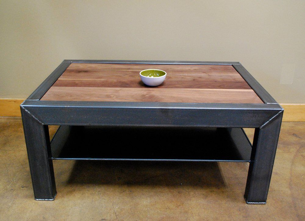 Kraftig coffee table en 2019 herrecarp muebles hierro for Muebles de diseno industrial