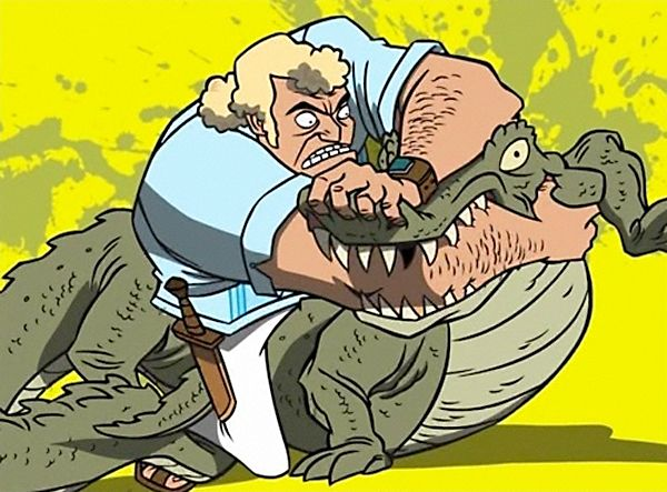 Brock Samson Crocodile Cartoon Art Art Films Character Art