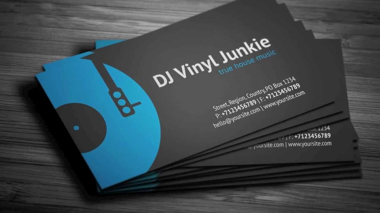 Dj Business Cards Template New Vinyl Dj Business Card Template Dj Business Cards Musician Business Card Unique Business Cards Design