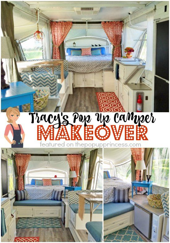 Tracy S Pop Up Camper Makeover Camper Makeover