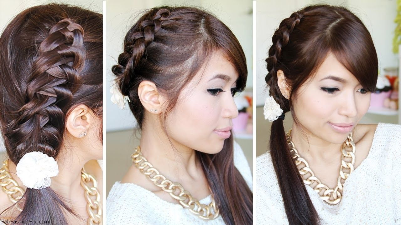 Staircase Chinese braid tutorial recommendations dress for spring in 2019