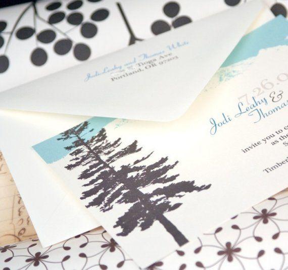 Mountain wedding invitation design fee by mavora on etsy our mountain wedding invitation design fee by mavora on etsy stopboris Gallery