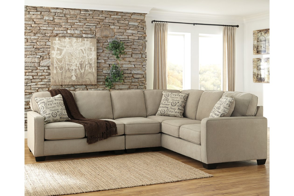Alenya 3 Piece Sectional Ashley Furniture Homestore White