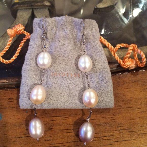 Tiffany Iridesse earrings Tiffany iridesse Pearl drop earrings Iridesse Jewelry Earrings