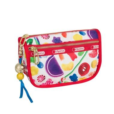 Dylan's Candy Bar LeSportsac Candy Zip Cosmetic in Candy Spill - LOVE