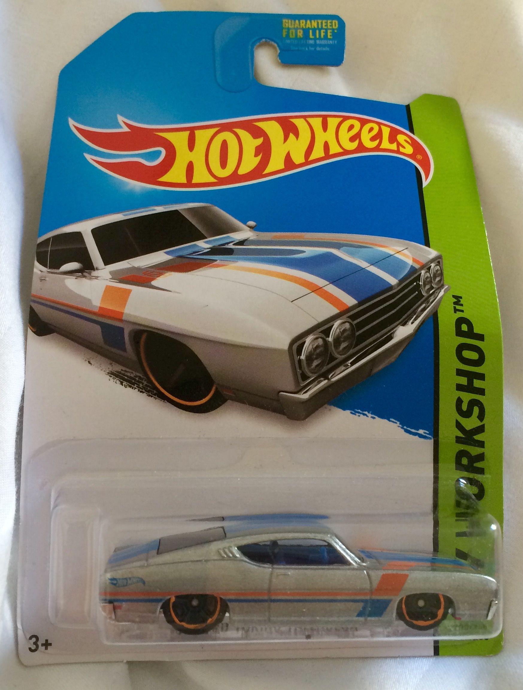 1969 Ford Torino Talladega Ford Torino Hot Wheels
