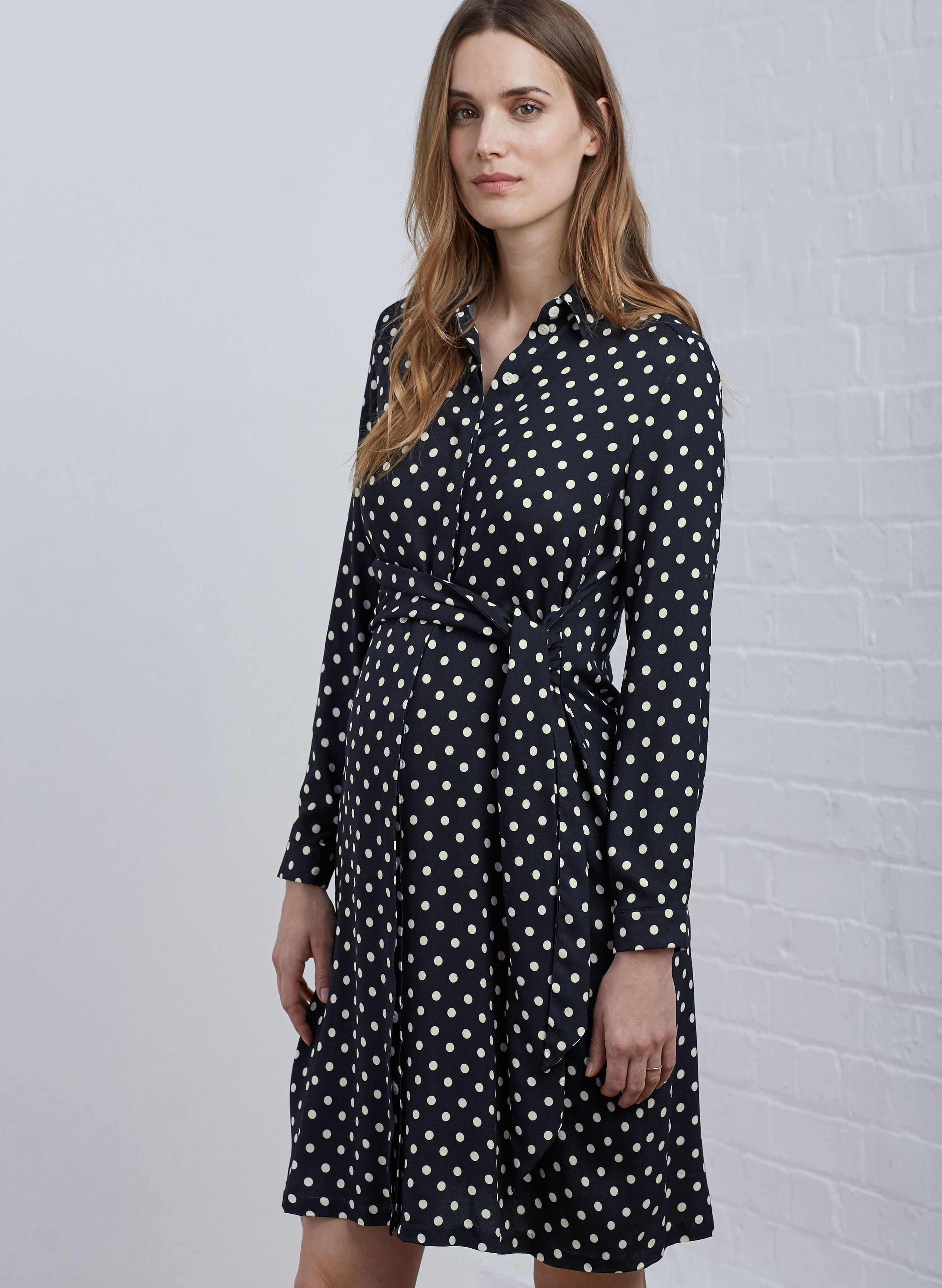 89ede1e180e52 Elisha Maternity Shirt Dress in [colour] at Isabella Oliver. Shop our  luxury collection today for stylish, premium quality maternity clothes that  will last.