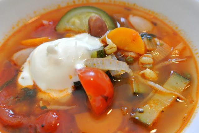 lilla kitchen: Välimeren kasviskeitto
