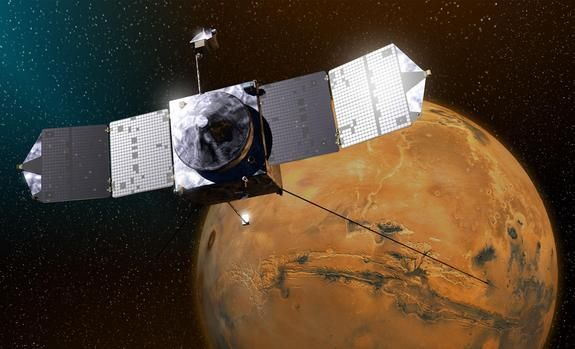 How to Get to Mars: NASA and India Face Big Tests at Red Planet NASA's MAVEN spacecraft is quickly approaching Mars on a mission to study its upper atmosphere. When it arrives on September 21, 2014, MAVEN's winding journey from Earth will culminate with a dramatic engine burn, pulling the spacecraft into an
