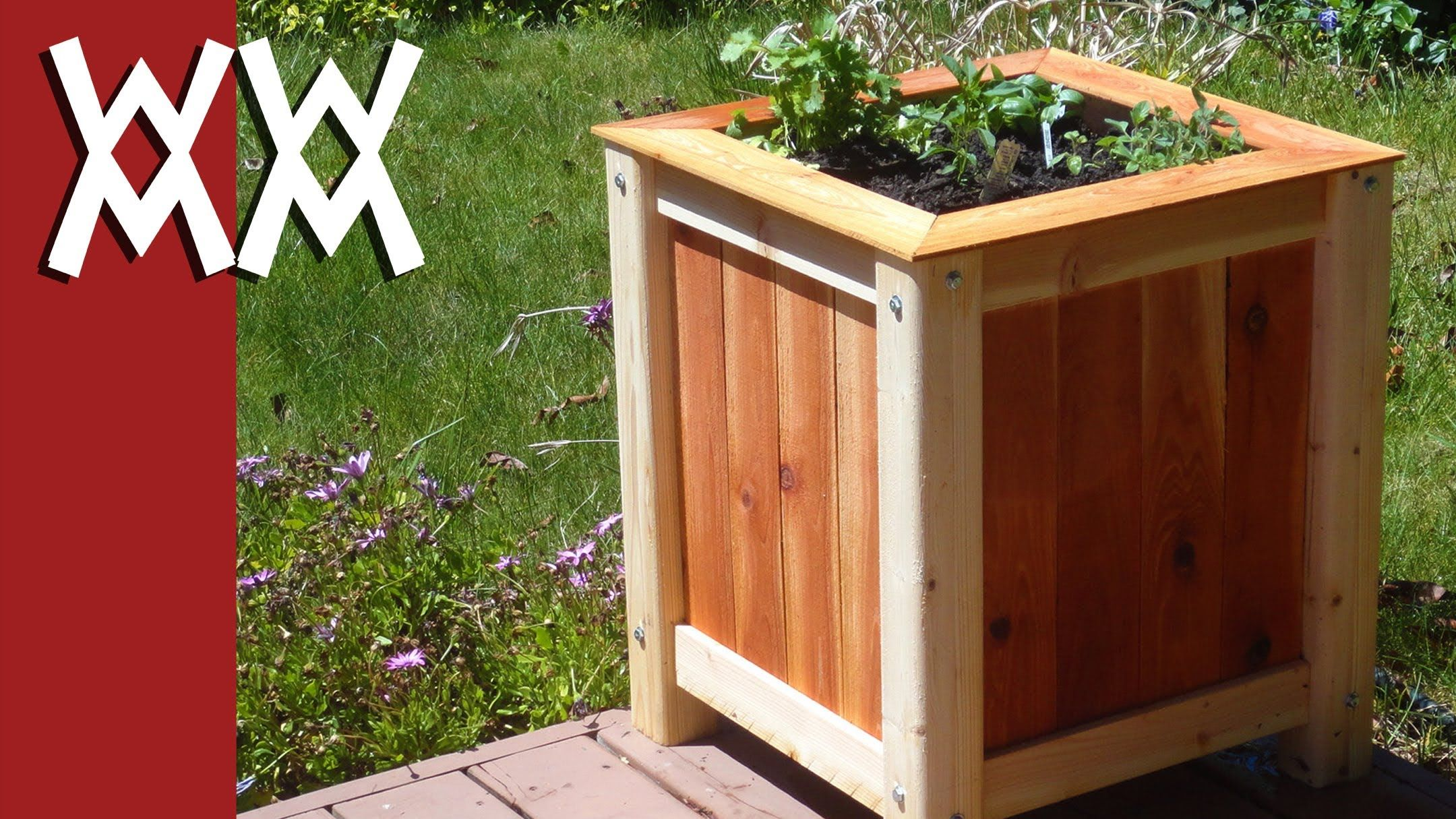 Build An Easy Inexpensive Wood Planter Box Wood 640 x 480