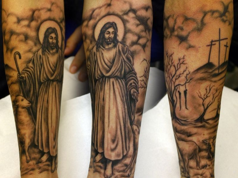 e79bb289b 30+ Spiritual Jesus Christ Tattoo designs and meaning - Find your Way