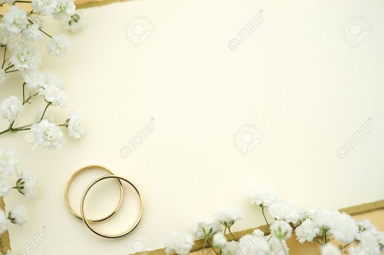 Blank Wedding Invitations Ring Weddinginvitation In 2019