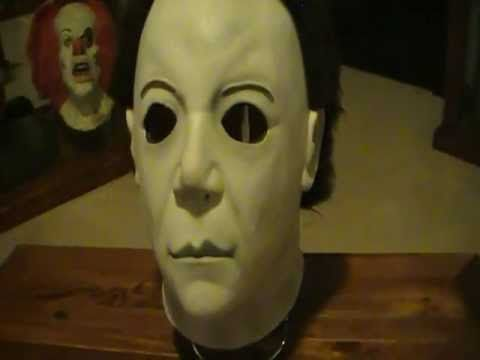 Halloween Resurrection Michael Myers Mask --  #HalloweenInterestingMasks