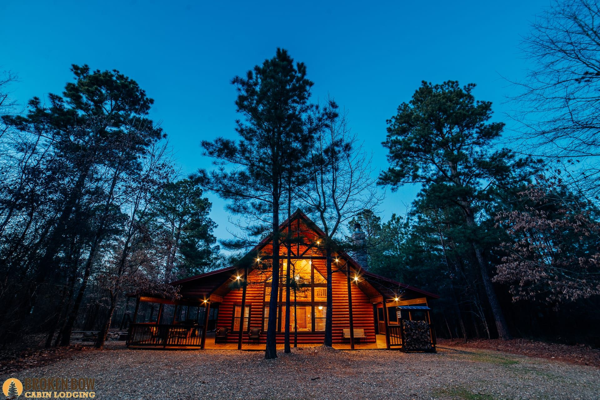 Beavers bend cabins hochatown ok with images