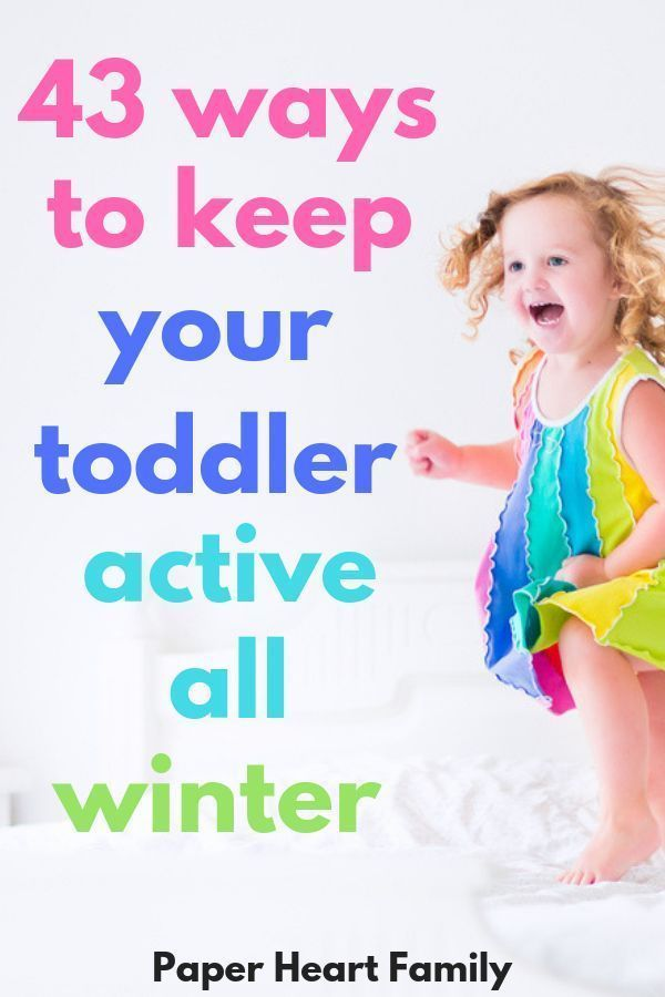 44 High Energy Toddler Activities (To Tire Your Toddler Out Before Bedtime) is part of Winter activities for kids, Toddler activities, Toddler fun, Infant activities, Toddler behavior, Toddler learning - 40+ high energy toddler activities that are the perfect ways to burn off energy  Great indoor activities for your super active 25 year old