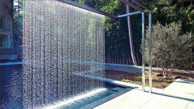 Our Factory Digital Waterfall Water Rain Curtain Made In Guangzhou