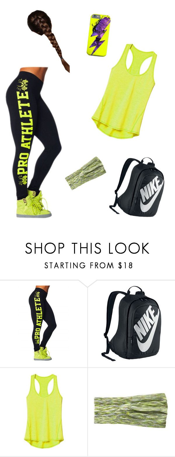 """""""#soccerday"""" by hecate66 ❤ liked on Polyvore featuring NIKE and Athleta"""