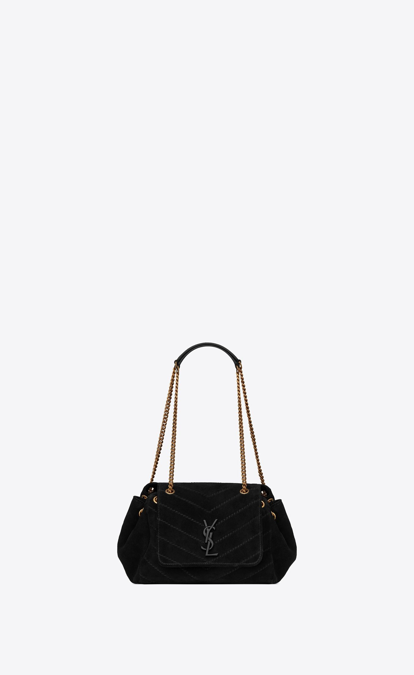 953e8c8768e2 Small Nolita chain bag in suede