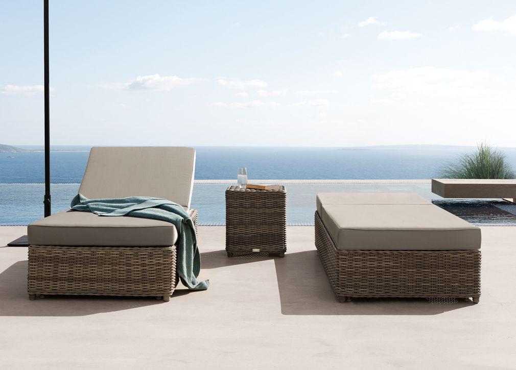 garden furniture manutti san diego sun lounger