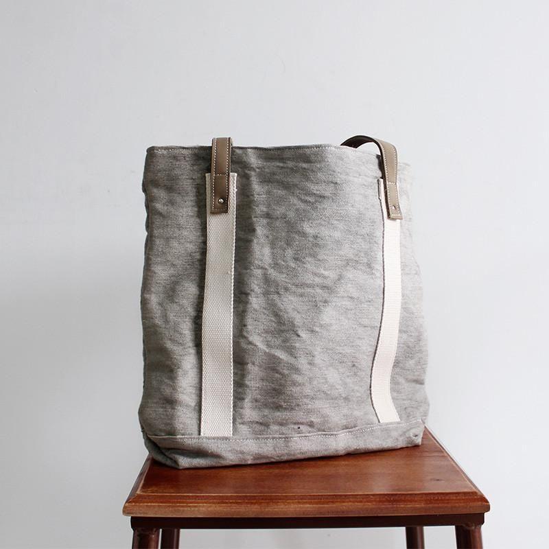 dd0f1f1331f2 Handmade Canvas Tote Bag Women s Casual Shoulder Bag Handbag for Women  14890 - LISABAG